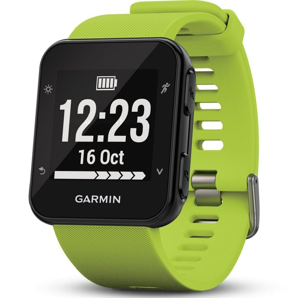 ab9f4793b674dc Garmin Forerunner 35 GPS Running Watch - Limelight - Red Rock UK