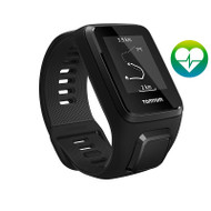 TomTom Spark 3 Cardio - Black - Large - GPS Multisport Fitness Running Watch