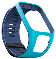 TomTom Replacement Strap - Small - Light / Dark Blue