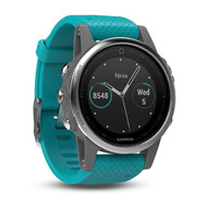 Garmin Fenix 5S Multisport GPS Sports Watch HRM - Turquoise (Garmin Newly Overhauled)