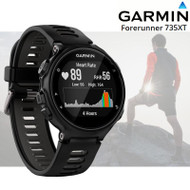 Garmin Forerunner 735XT Running Multisport GPS Watch with HRM- Black/ Grey (Garmin Newly Overhauled)