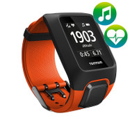 TomTom Adventurer Cardio Music GPS Multisport watch - Orange