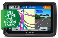 "Garmin Dezl 570LMT-D 5"" Truck Sat Nav - Europe - Free Lifetime Maps & D Traffic (Garmin Newly Overhauled)"