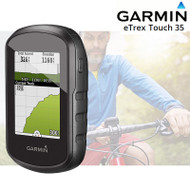 Garmin eTrex Touch 35 GPS GLONASS W-Europe with Free Lifetime Updates (Newly Overhauled)