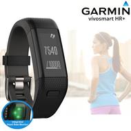 Garmin Vivosmart HR+ GPS Activity Tracker - Integrated HRM -Black - XL