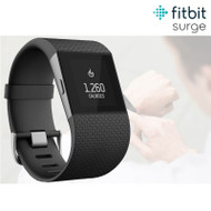 Fitbit Surge GPS Fitness Activity Tracker With Integrated HRM - Black - Small (Factory Refurbished)