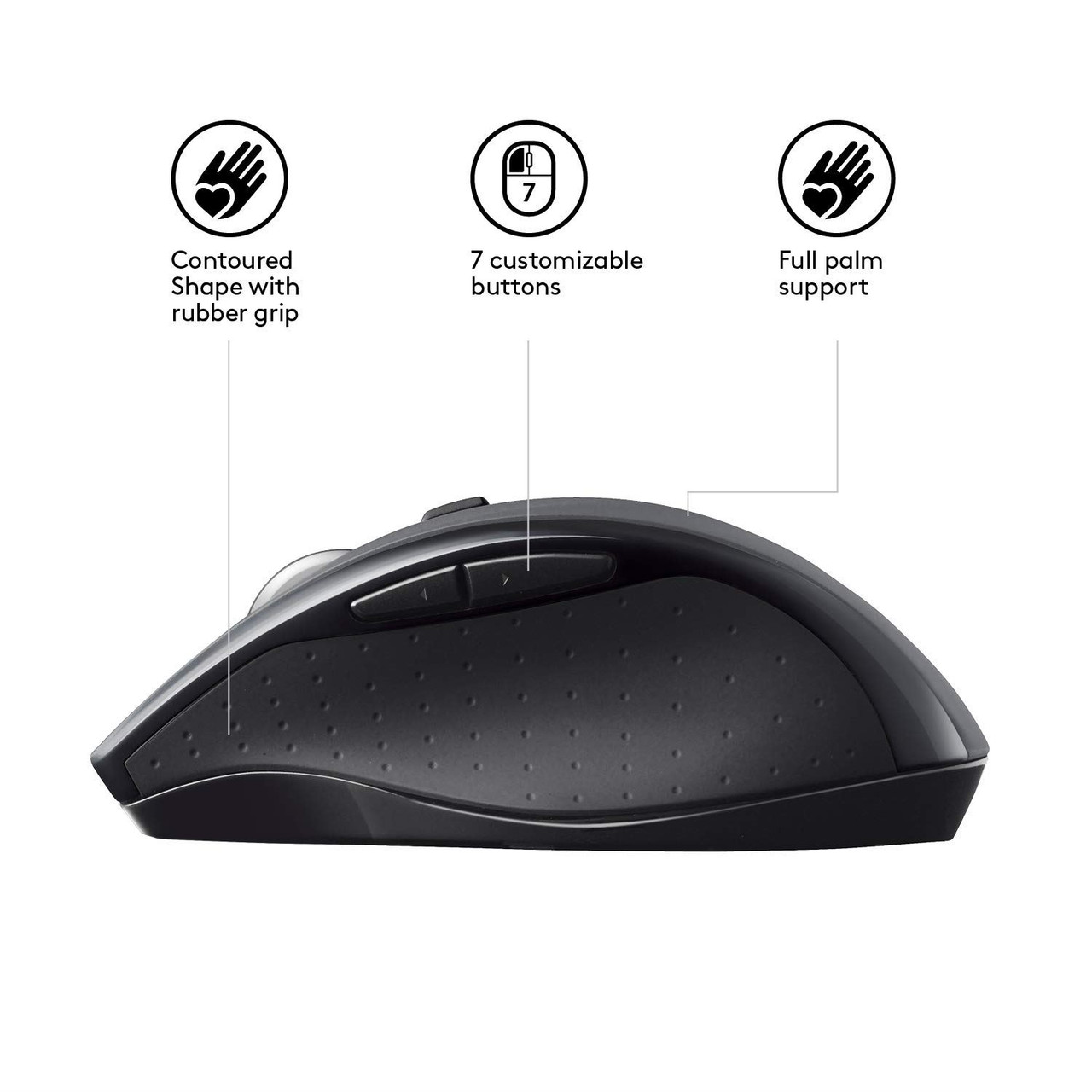 Logitech Marathon M705 Wireless USB Unifying Hyperfast Scrolling Mouse