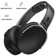 Skullcandy Hesh 3 Bluetooth Wireless Over-Ear Headphones with Microphone - Black