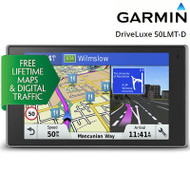 "Garmin DriveLuxe 50LMT-D 5"" GPS System - Europe -  LT Maps & Digital Traffic"