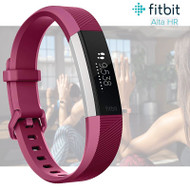 Fitbit Alta HR Fitness Activity Tracker with Heart Rate - Fuchsia - Large