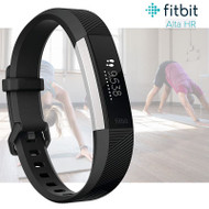 Fitbit Alta HR Fitness Activity Tracker with Heart Rate - Black - Small