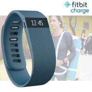 Fitbit Charge Fitness Activity Tracker Wristwatch Pedometer - Gray - Small