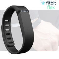 Fitbit Flex Fitness Activity Tracker Pedometer - Black - Small & Large Straps