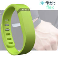 Fitbit Flex Fitness Activity Tracker Pedometer - Lime Green - Small & Large Straps