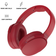 Skullcandy Hesh 3 Bluetooth Wireless Over-Ear Headphones with Microphone - Red
