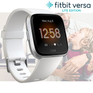 Fitbit Versa Lite Health & Fitness Smartwatch With Integrated Heart Rate - White