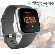 Fitbit Versa Lite Health & Fitness Smartwatch + Integrated Heart Rate - Charcoal