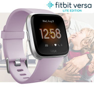 Fitbit Versa Lite Health & Fitness Smartwatch + Integrated Heart Rate - Lilac