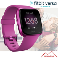 Fitbit Versa Lite Health & Fitness Smartwatch + Integrated Heart Rate - Mulberry