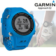 Garmin Approach S2 GPS Golf Watch with 38,000 Worldwide Courses - Blue (Garmin Newly Overhauled)