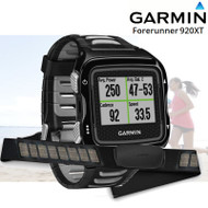 Garmin Forerunner 920XT Multisport Watch with HRM - Black/Silver (Garmin Newly Overhauled)