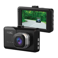 "RAC R3000 3"" Full 1080p HD Dash Cam  Collision/Parking Monitor with G-Sensor"