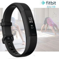 Fitbit Alta HR Fitness Activity Tracker with Heart Rate - Gunmetal - Small