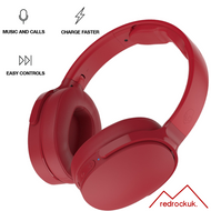 Skullcandy Hesh 3 Bluetooth Wireless Over-Ear Headphones with Microphone - Red (MRF)