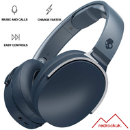 Skullcandy Hesh 3 Bluetooth Wireless OverEar Headphones & Microphone - Navy Blue (MRF)