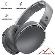 Skullcandy Hesh 3 Bluetooth Wireless Over-Ear Headphones with Microphone - Grey (MRF)