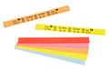 ZEBRA Z BAND SPLASH PKT/6 YELLOW HC100