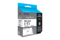 EPSON LABELWORKS TAPE BLACK ON WHITE 24MM