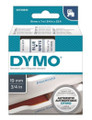 DYMO Genuine D1 Label Cassette Tape 19mm x 7M, Blue on White