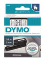 DYMO Genuine D1 Label Cassette Tape 9mm x 7m BLACK ON WHITE