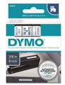 DYMO Genuine D1 Label Cassette Tape 9mm x 7M, Blue on White