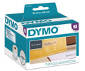 DYMO Genuine LabelWriter Large Address Labels 36mm x 89mm Clear