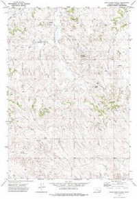 7.5' Topo Map of the Bear Creek School, MT Quadrangle