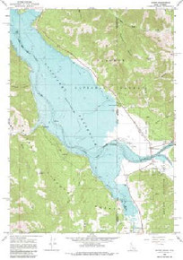 7.5' Topo Map of the Alpine, WY Quadrangle