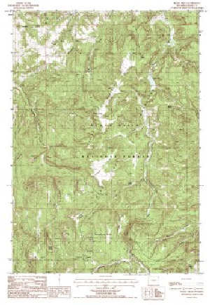 Hill Topographic Map.7 5 Topo Map Of The Black Hills Wy Quadrangle Wsgs Product Sales