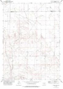 7.5' Topo Map of the Hileman Draw, WY Quadrangle