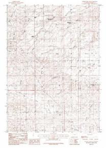 7.5' Topo Map of the Holdup Hollow, WY Quadrangle