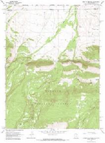 7.5' Topo Map of the Hole In The Rock, UT Quadrangle