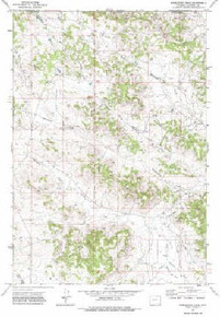 7.5' Topo Map of the Homestead Draw, WY Quadrangle