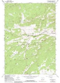 7.5' Topo Map of the Hunter Mesa, WY Quadrangle