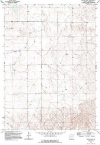 7.5' Topo Map of the Ireton Draw, WY Quadrangle