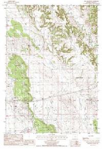 7.5' Topo Map of the Iron Mountain, WY Quadrangle