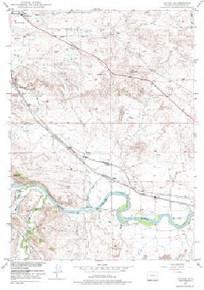 7.5' Topo Map of the Irvine, WY Quadrangle