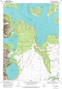 7.5' Topo Map of the Jenny Lake, WY Quadrangle
