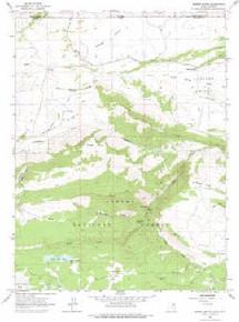 7.5' Topo Map of the Jessen Butte, UT Quadrangle