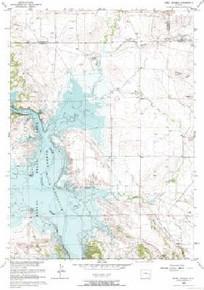 7.5' Topo Map of the Jewel Springs, WY Quadrangle